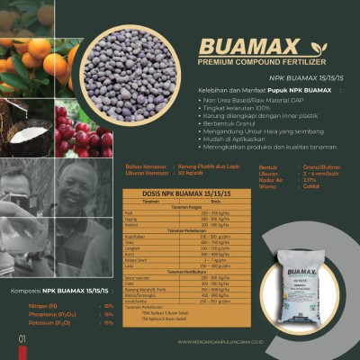 Buamax NPK 15.15.15