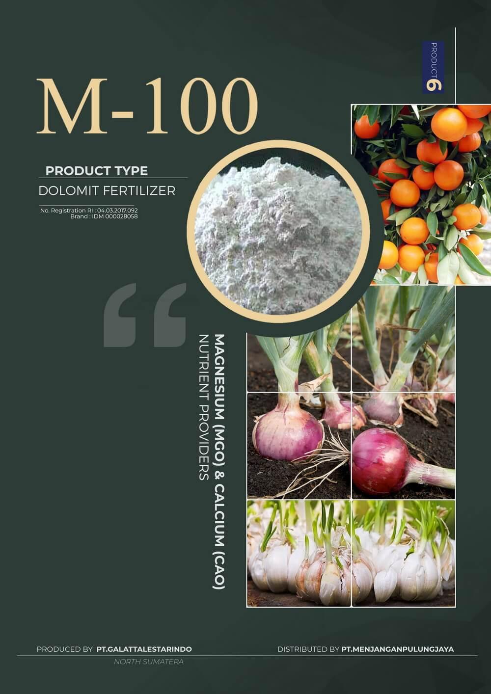 Pupuk M-100